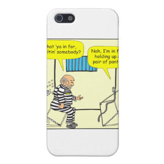 316 Belt in jail cartoon Cover For iPhone SE/5/5s