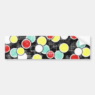 _316_summer-school-1-paper-circles GRUNGE CIRCLES Bumper Stickers