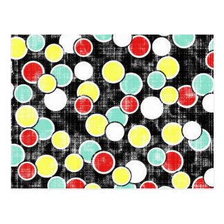 _316_summer-school-1-paper-circles GRUNGE CIRCLES Postcard