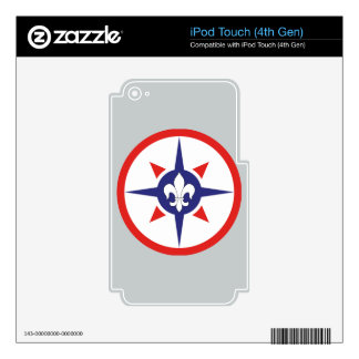 316th Sustainment Command iPod Touch 4G Decals