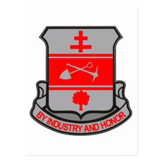 317th Engineer Battalion Postcard