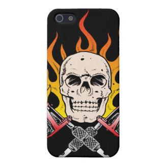 318 Flaming Skull Tattoo iPhone 5 Case