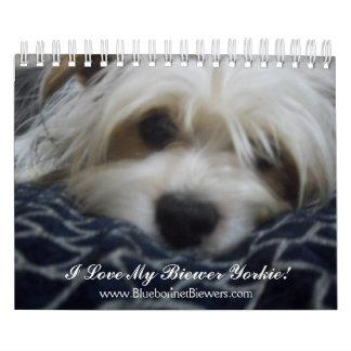 318, www.BluebonnetBiewers.com, amo mi Biewe… Calendario De Pared