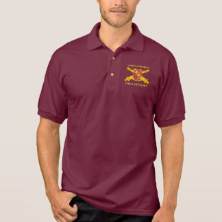 319TH AIRBORNE FIELD ARTILLERY POLO SHIRT