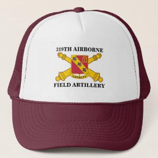 319TH AIRBORNE FIELD ARTILLERY TRUCKER HAT