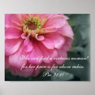 31:10 de Collection~ de los proverbios 31 favorabl Poster