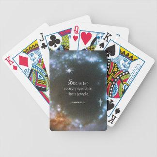 31:10 de los proverbios cartas de juego