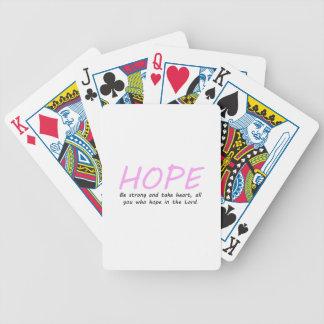 31:24 del salmo baraja de cartas