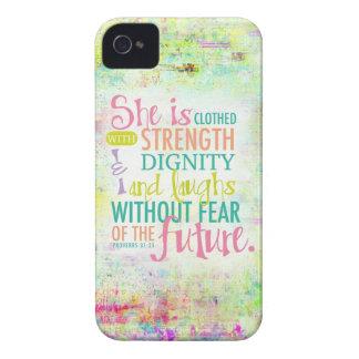 31 25 artístico de los proverbios iPhone 4 carcasas