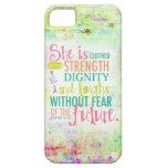 31:25 artístico de los proverbios iPhone 5 Case-Mate protectores