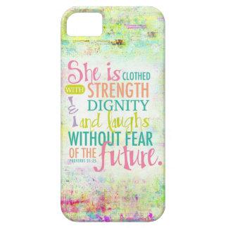 31 25 artístico de los proverbios iPhone 5 Case-Mate protectores