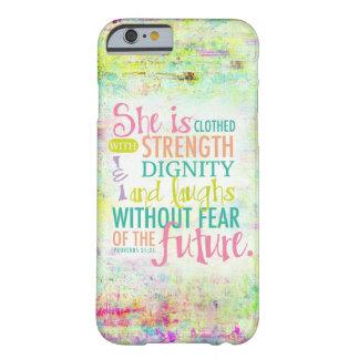 31:25 artístico de los proverbios funda de iPhone 6 barely there