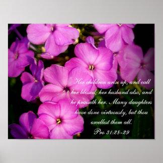 31:28 del ~ de la colección de los proverbios 31 f posters