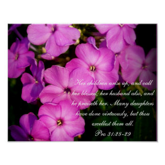 31:28 del ~ de la colección de los proverbios 31 f póster