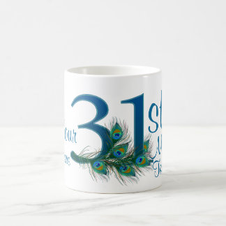 # 31- 31st Wedding Anniversary or 31st Birthday Coffee Mug