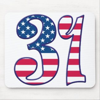 31 Age USA Mouse Pad