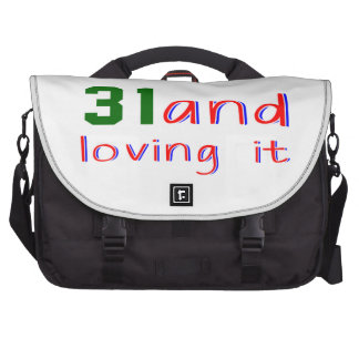 31 and loving it laptop commuter bag