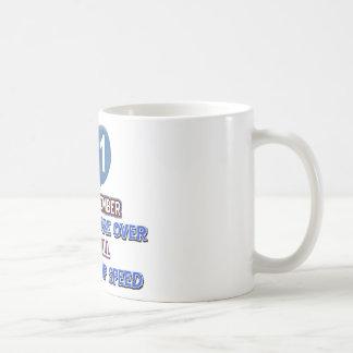 31 and over the hill birthday designs coffee mug