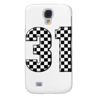 31 auto racing number galaxy s4 case