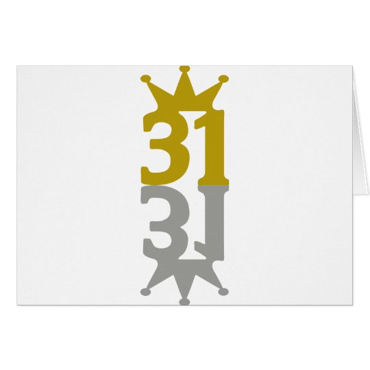 31-Crown-Reflection Card