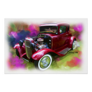 31' Ford Model-A Poster