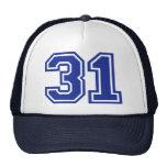 31 - número gorra