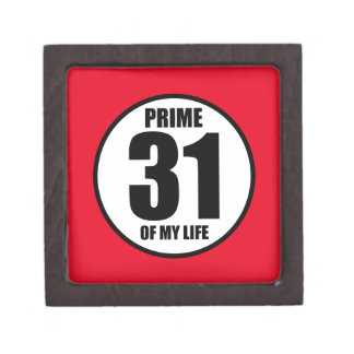 31 - prime of my life gift box