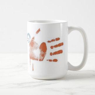 31) Rayas de la sangre: Impresión de la bandera -  Tazas De Café