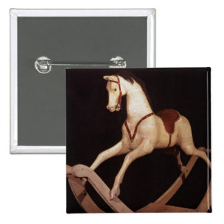 31:Rocking horse, English, 1840 2 Inch Square Button