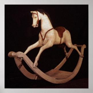 31:Rocking horse, English, 1840 Poster