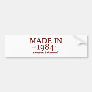 31 year old birthday designs and gifts bumper sticker