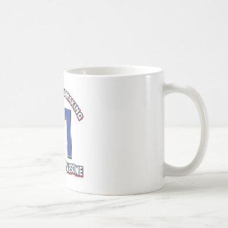 31 year old designs coffee mug