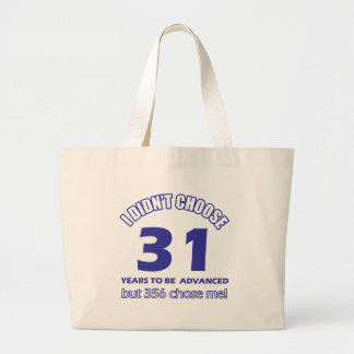 31 years advancement bag