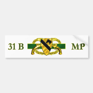 31B 1st Cavalry Division Bumper Sticker