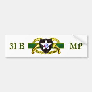 31B 2nd Infantry Division Bumper Sticker