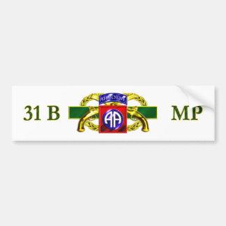 31B 82nd Airborne Division Bumper Sticker