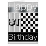 31ro Cumpleaños Tarjetas