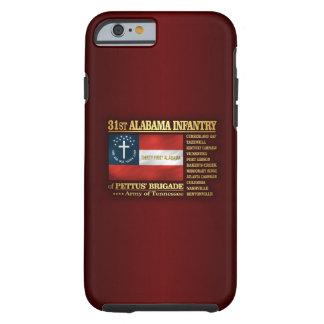 31ro Infantería de Alabama (BA2) Funda Para iPhone 6 Tough