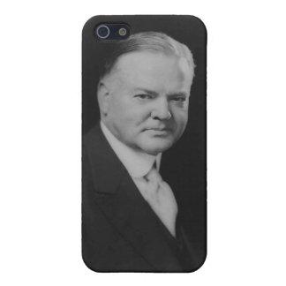 31ro presidente de Herbert Hoover iPhone 5 Carcasa