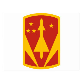 31st Air Defense Artillery Brigade Postcard