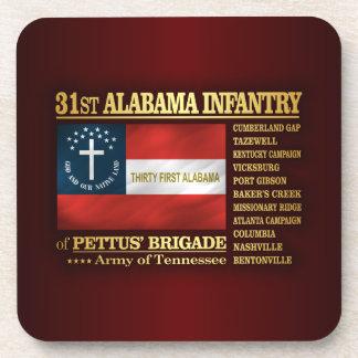 31st Alabama Infantry (BA2) Coaster