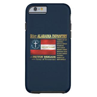 31st Alabama Infantry (BA2) Tough iPhone 6 Case