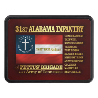 31st Alabama Infantry (BA2) Tow Hitch Cover