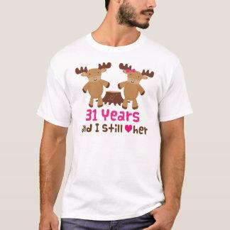 31st Anniversary Gift For Her T-Shirt