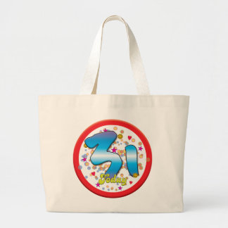31st Birthday Today Tote Bags