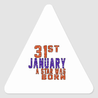 31st January a star was born Stickers