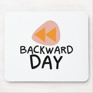 31st January - Backward Day Mouse Pad