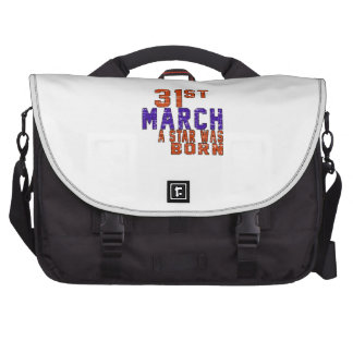 31st March a star was born Commuter Bags