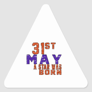 31st May a star was born Sticker