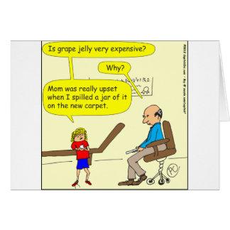 320 grape jelly Cartoon Cards